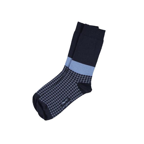 Socken gemustert