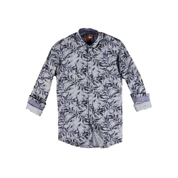 Langarmhemd mit Floralprint