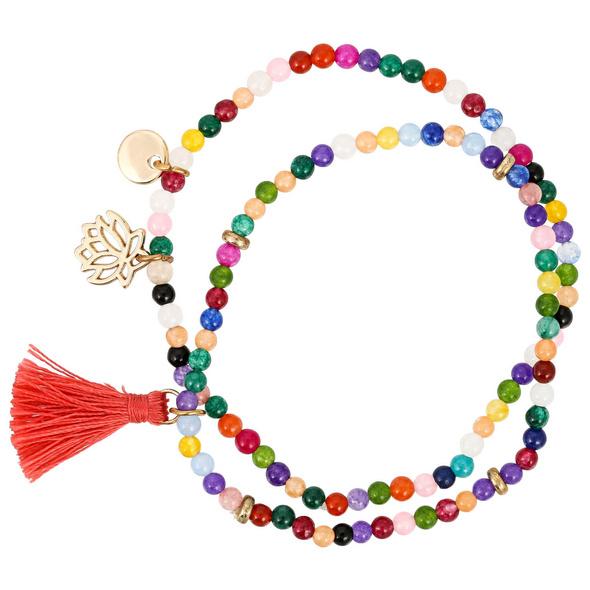 Armband-Set - Colorful Lotus