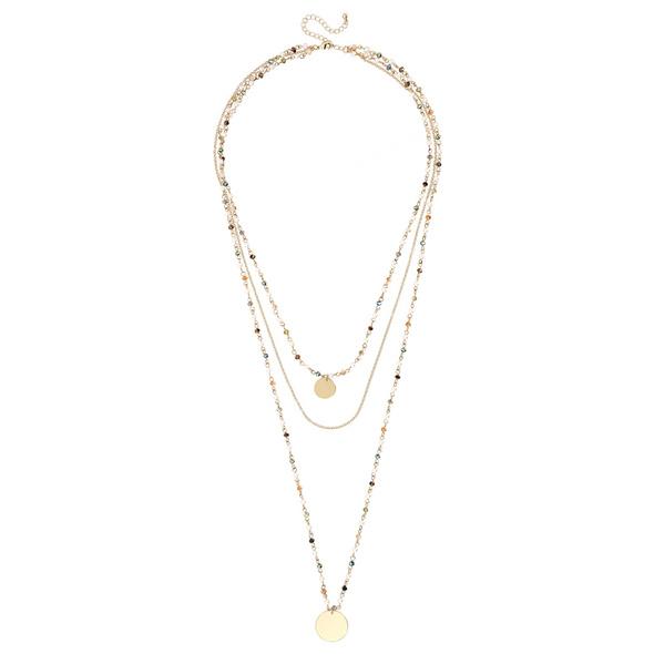 Kette - Colour Pearls