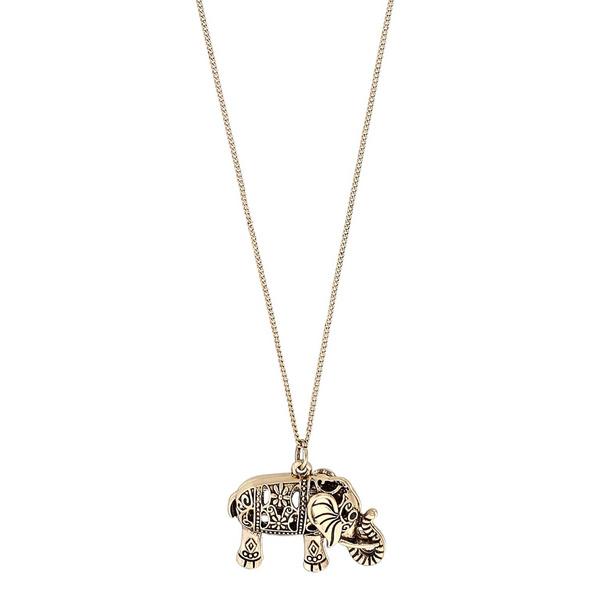 Kette - Golden Elephant