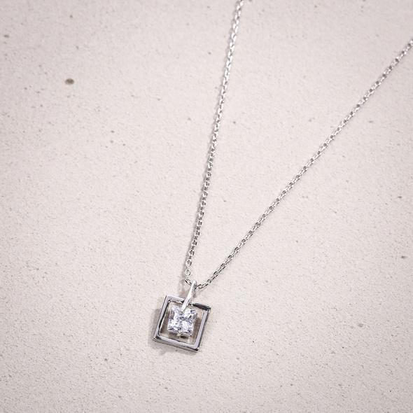 Kette - Square Crystal