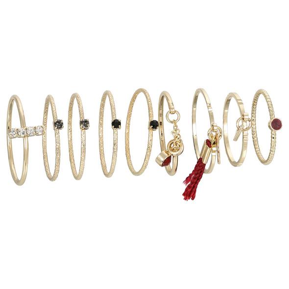 Ring-Set - Tiny Tassel