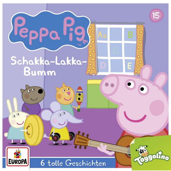 Peppa Pig Hörspiel 15. Schakka-Lakka-Bumm  und 5 w