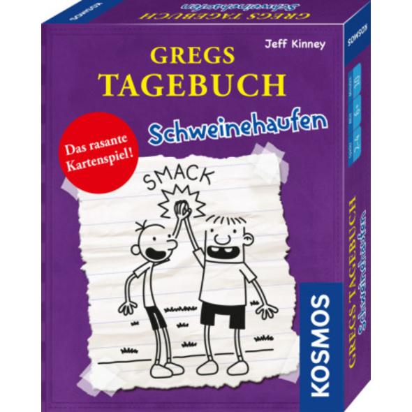 Kartenspiel Gregs Tagebuch - Schweinehaufen