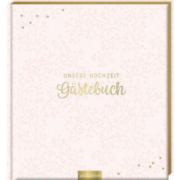 Unsere Hochzeit - Gästebuch  blanko