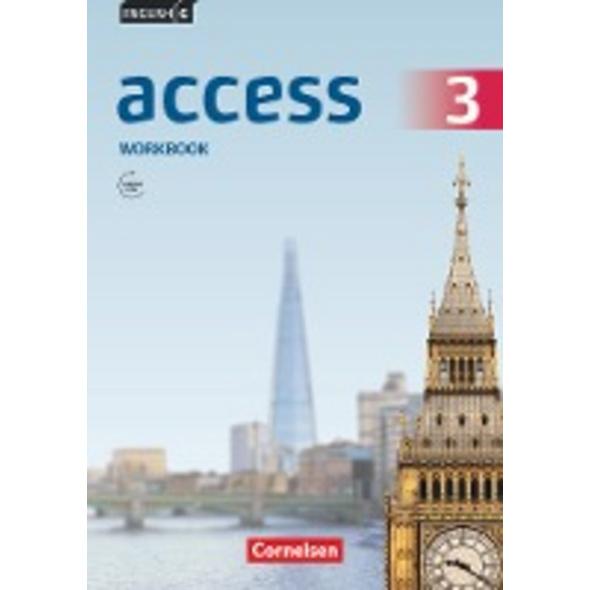 English G Access 3: 7. Schuljahr.Workbook mit Audi