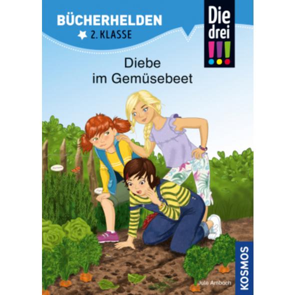 Die drei !!!, Bücherhelden, Diebe im Gemüsebeet