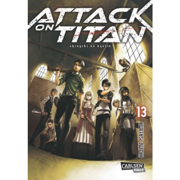 Attack on Titan 13