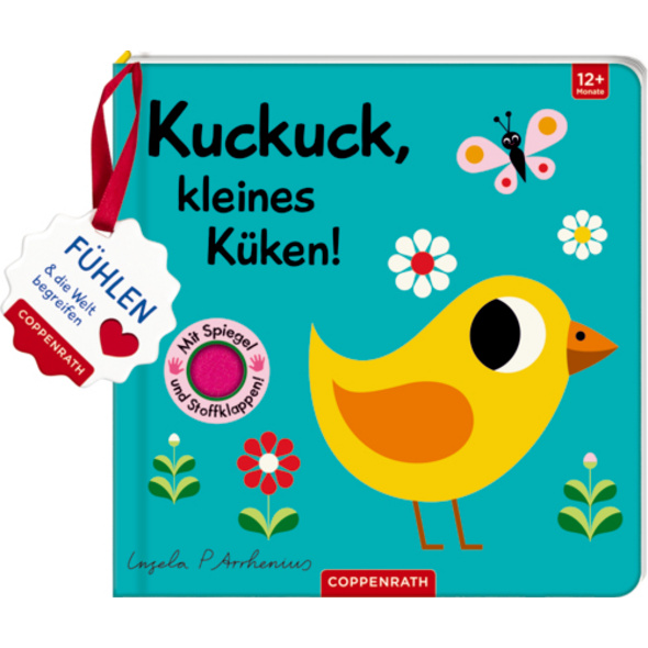 Mein Filz-Fühlbuch: Kuckuck, kleines Küken!