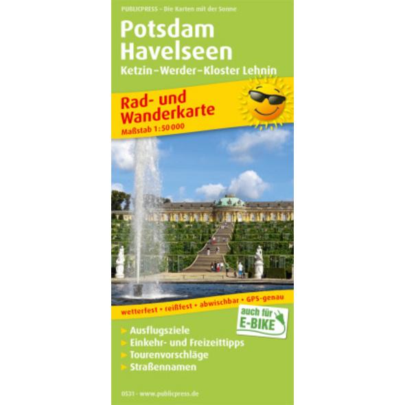 Potsdam - Havelseen, Ketzin - Warder - Kloster Leh