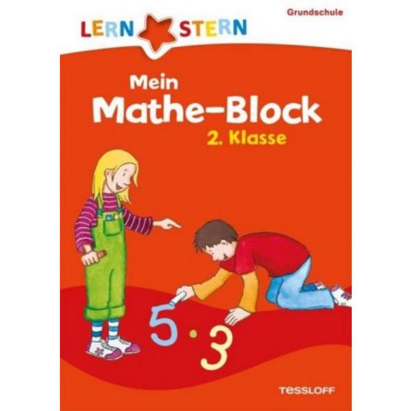 Lernstern: Mein Mathe-Block 2. Klasse