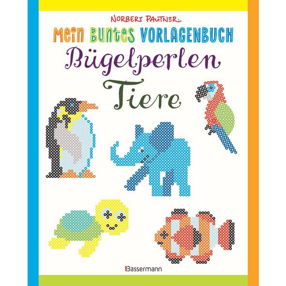 Mein buntes Vorlagenbuch: Bügelperlen-Tiere. Über