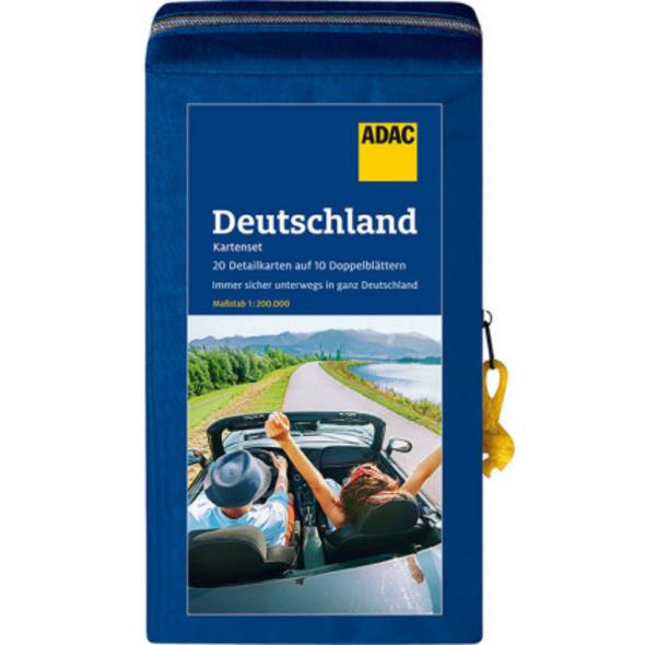 ADAC KartenSet Deutschland 2021 2022 1:200.000