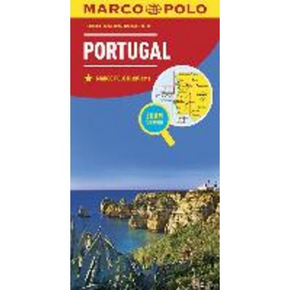 MARCO POLO Länderkarte Portugal 1:300 000