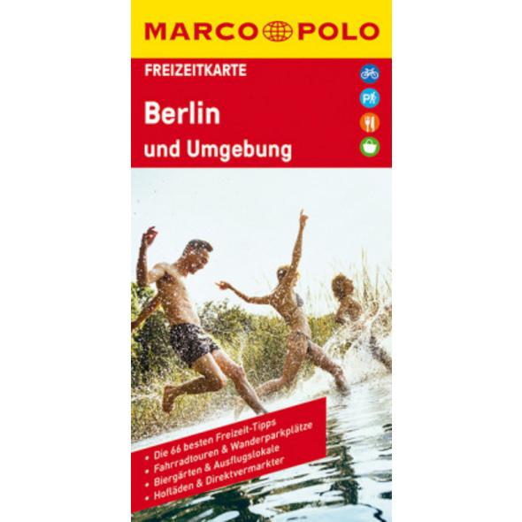 MARCO POLO Freizeitkarte Berlin und Umgebung 1:100
