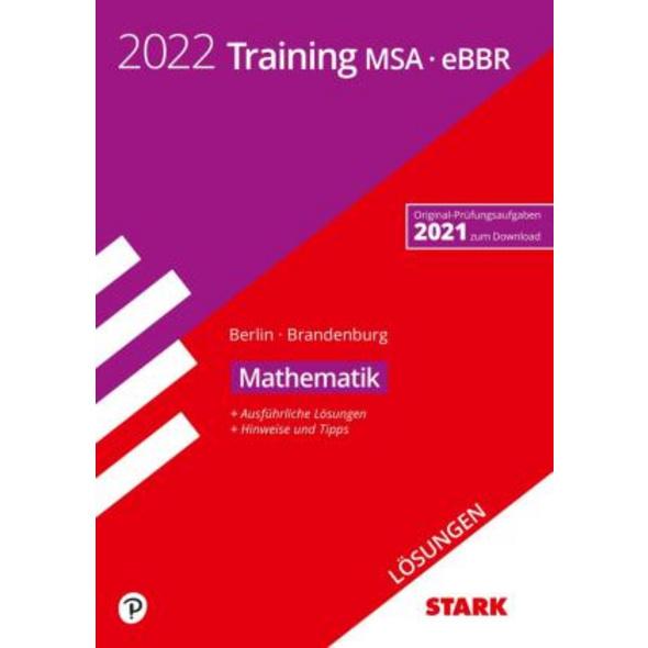 STARK Lösungen zu Training MSA eBBR 2022 - Mathema