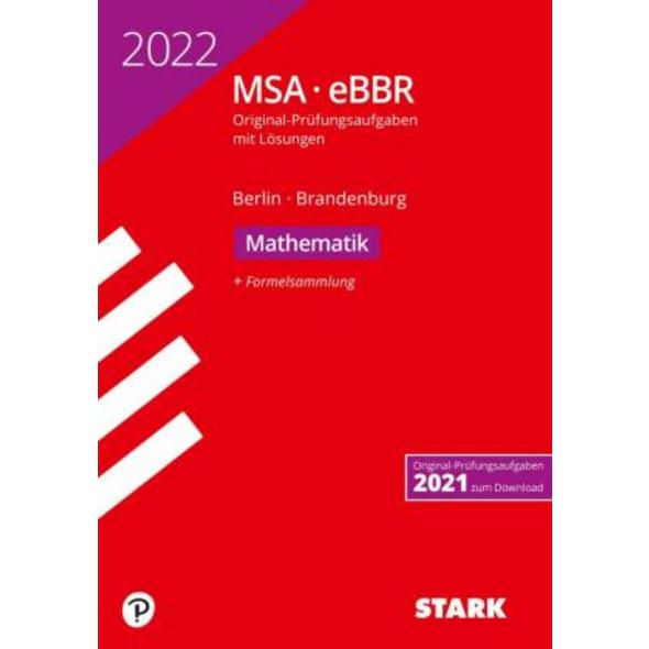 STARK Original-Prüfungen MSA eBBR 2022 - Mathemati