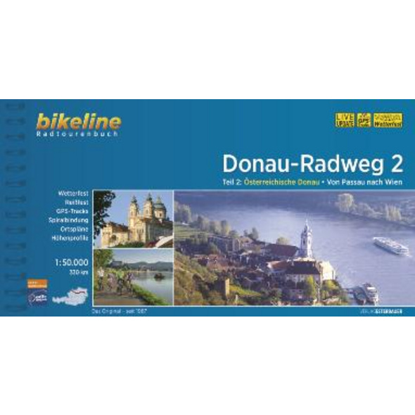 Donauradweg   Donau-Radweg 2