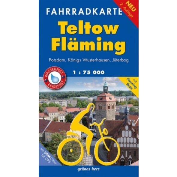 Teltow-Fläming Fahrradkarte 1 : 75 000
