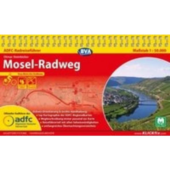 ADFC-Radreiseführer Mosel-Radweg 1 : 50.000