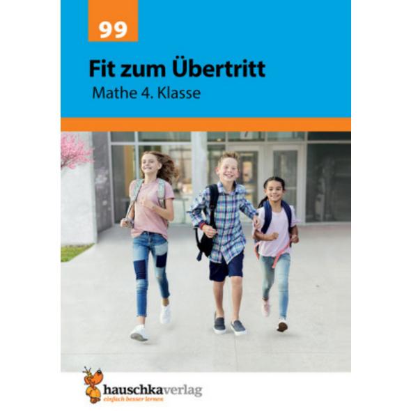 Fit zum Übertritt - Mathe 4. Klasse, A4- Heft