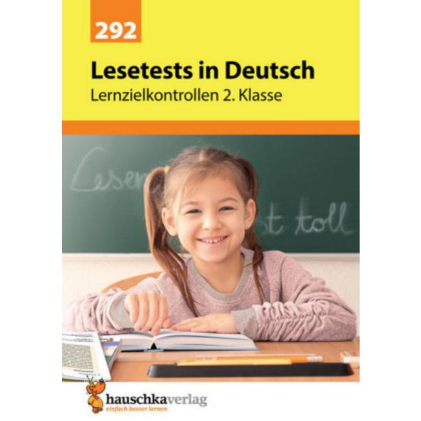 Lesetests in Deutsch - Lernzielkontrollen 2. Klass