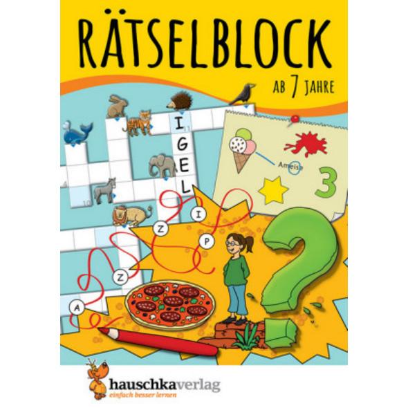 Rätselblock ab 7 Jahre, Band 1, A5-Block