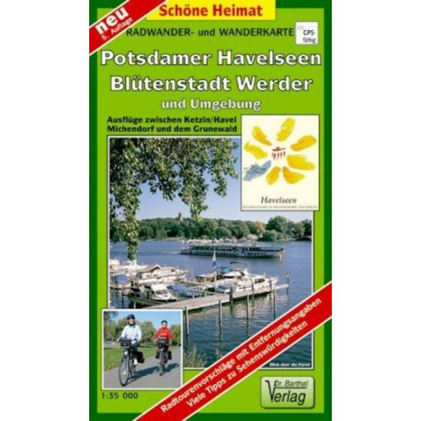 Radwander- und Wanderkarte Potsdamer Havelseen, Bl