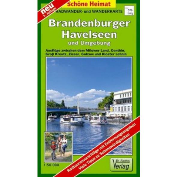 Brandenburger Havelseen und Umgebung 1 : 35 000. R
