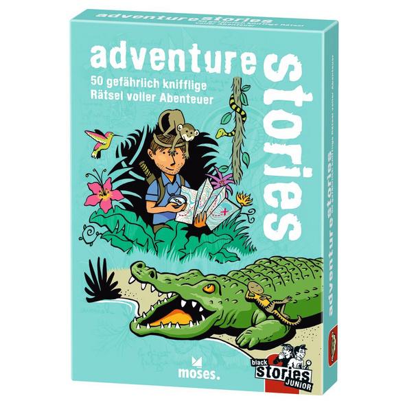 black stories junior - adventure stories