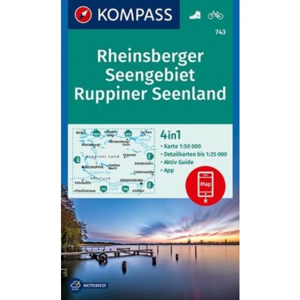KV WK 743 Rheinsberger Seengebiet, Ruppiner Seenla