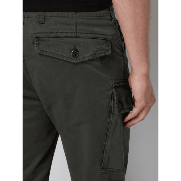 Straight Fit Cargohose mit Stretch-Anteil