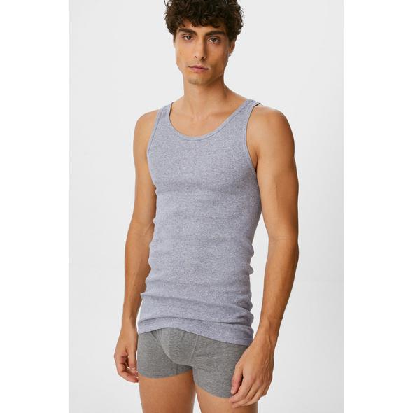 Multipack 3er - Unterhemd - Feinripp - Bio-Baumwolle