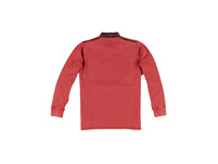 Polo-Shirt aus Strukturware