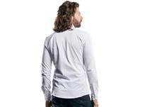 Hemd in Piqué-Optik