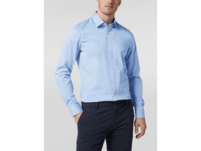 Slim Fit Business-Hemd mit Stretch-Anteil