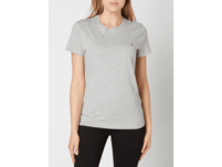 T-Shirt aus Organic Cotton mit Logo-Stickerei