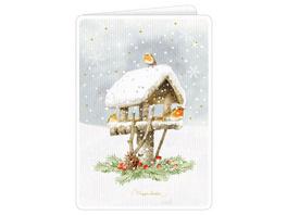 Zauberhafte Weihnachtsgrußkarten  Marjolein Bastin