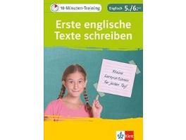 10-Minuten-Training Englisch Aufsatz: Erste englis